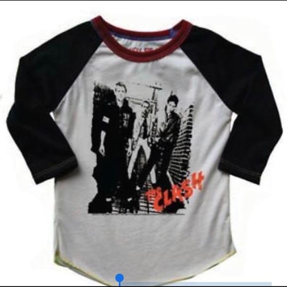 2aa4bbce Rowdy Sprout Shirts & Tops | Kids The Clash Raglan Shirt | Poshmark